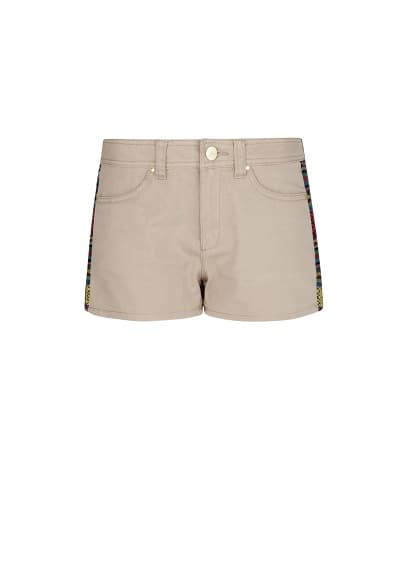 Ethnic cotton shorts