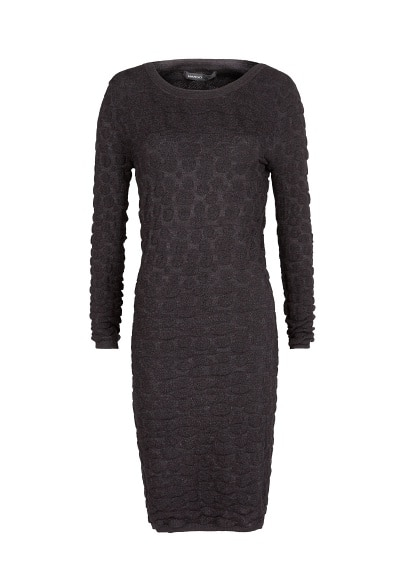 Knit jacquard dress