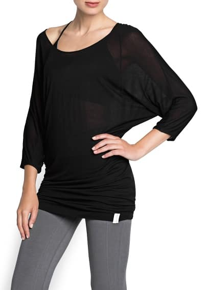 Yoga - Camiseta larga soft sport