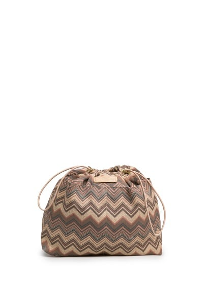 Ethnic print interior bag