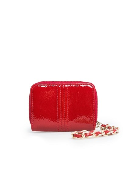 Chain patent coin purse