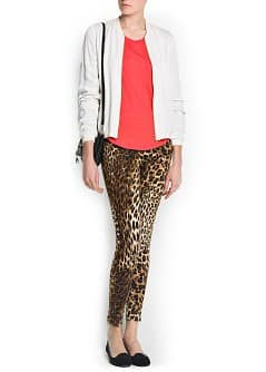 Leggings leopardati