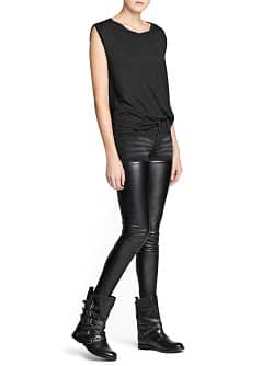 Super slim-fit black Sade jeans