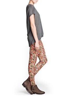 Leggings estampado floral