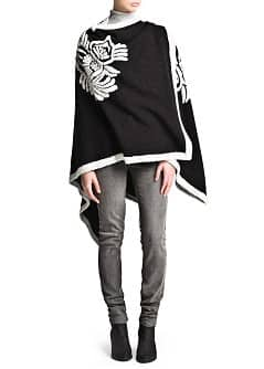 Monochrome waterfall cape