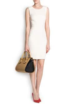 GATHERED DETAILS DRESS