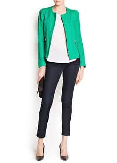 COTTON ZIPPED JACKET