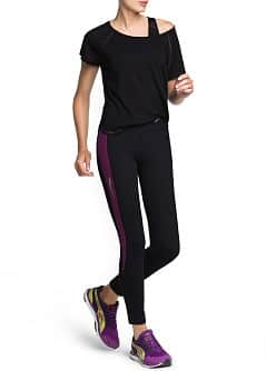 Fitness & Running - Leggings longs effet amincissant