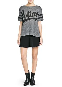 T-shirt oversized voltage