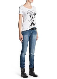 Disney-T-Shirt mit Strass