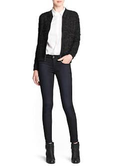 Super slim-fit black Twin jeans