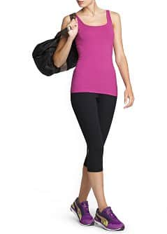 Fitness & Running - Comfort stretch cotton top