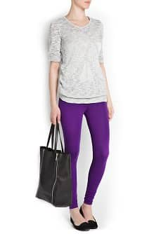 LEGGINGS EN COTON