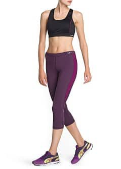 Fitness & Running - Leggings capri effet amincissant