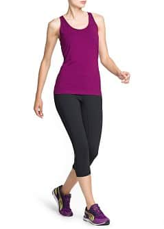 Fitness & Running - Active stretch top