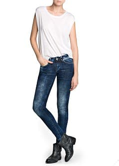 Super slim-fit dark wash jeans