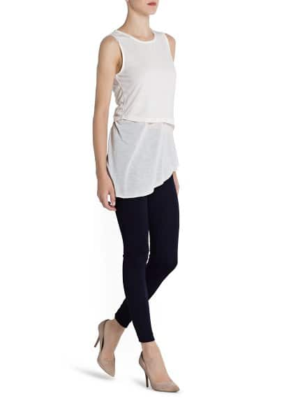 Double layer lightweight top