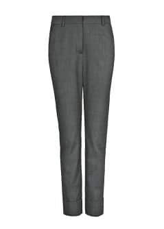 Bird's eye trousers
