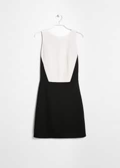 Monochrome Fitted Dress