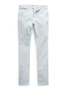 Tim slim-fit jeans met bleached wassing