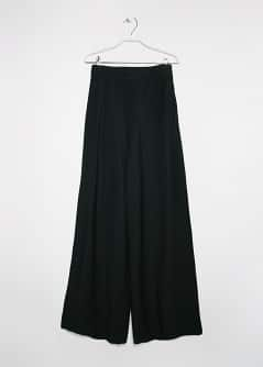 Textured Palazzo Trousers