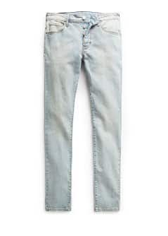 Tim slim-fit jeans met vintage wassing