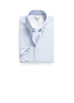 Slim-fit micro-stripe shirt