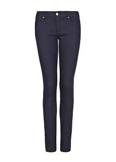 Super slim-fit navy jeans