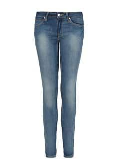 Superskinny jeans met vintage wassing