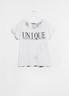Unique modal-blend t-shirt