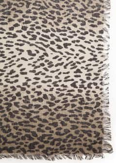 Schal mit Animal-Print