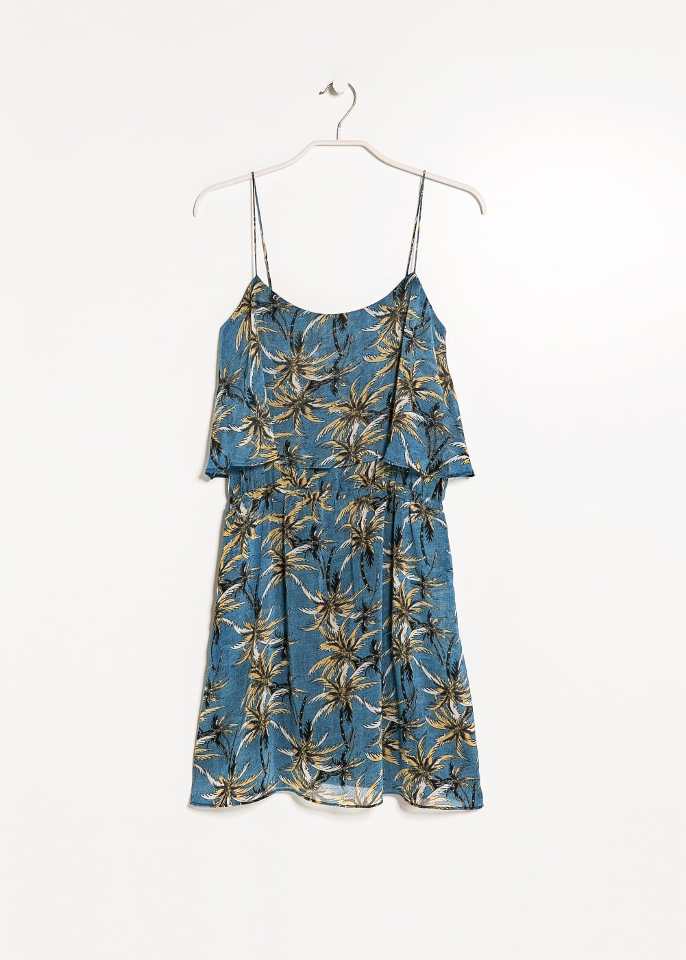 Palm print dress | MANGO