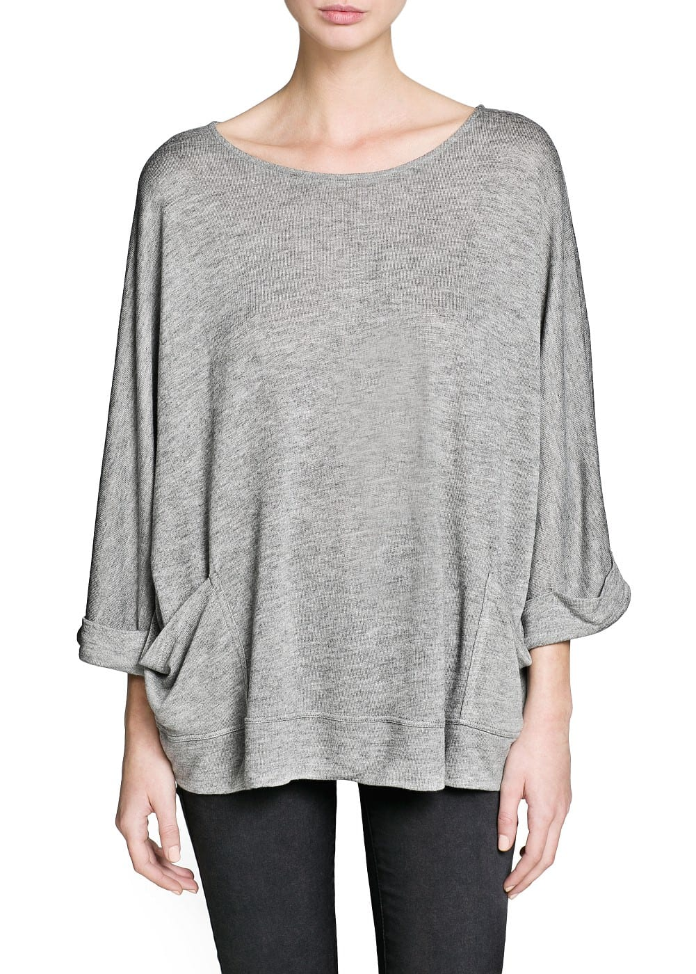 Dolman sleeve pocket t-shirt
