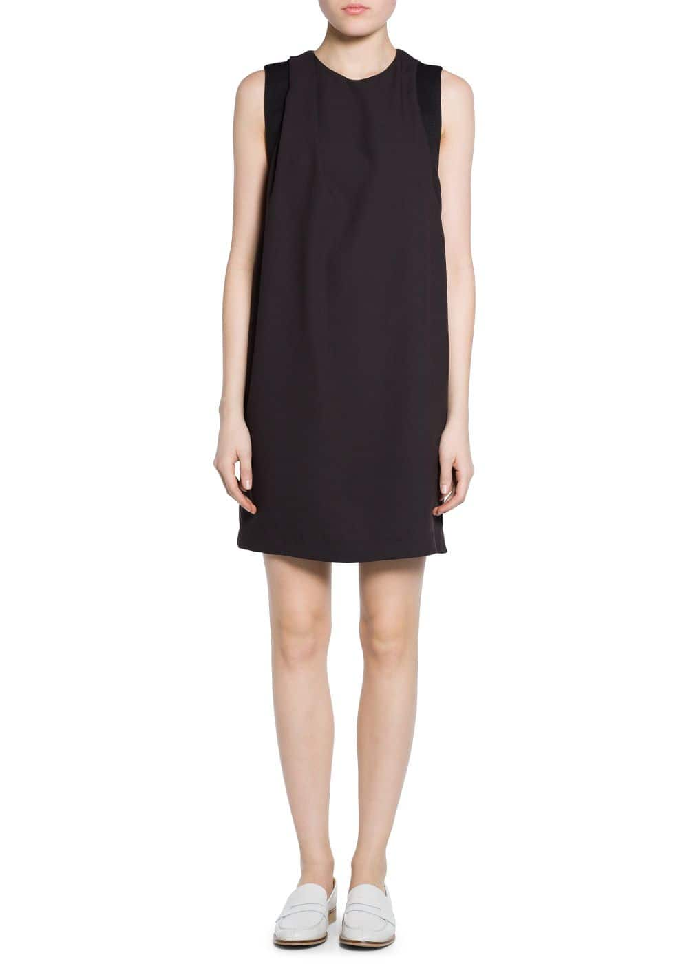 Crepe shift dress | MANGO