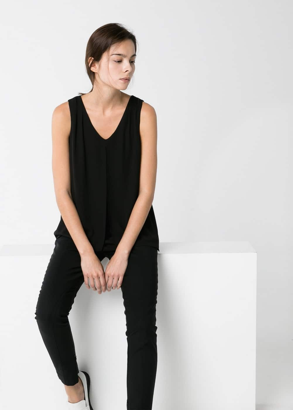 Double-layer top | MANGO