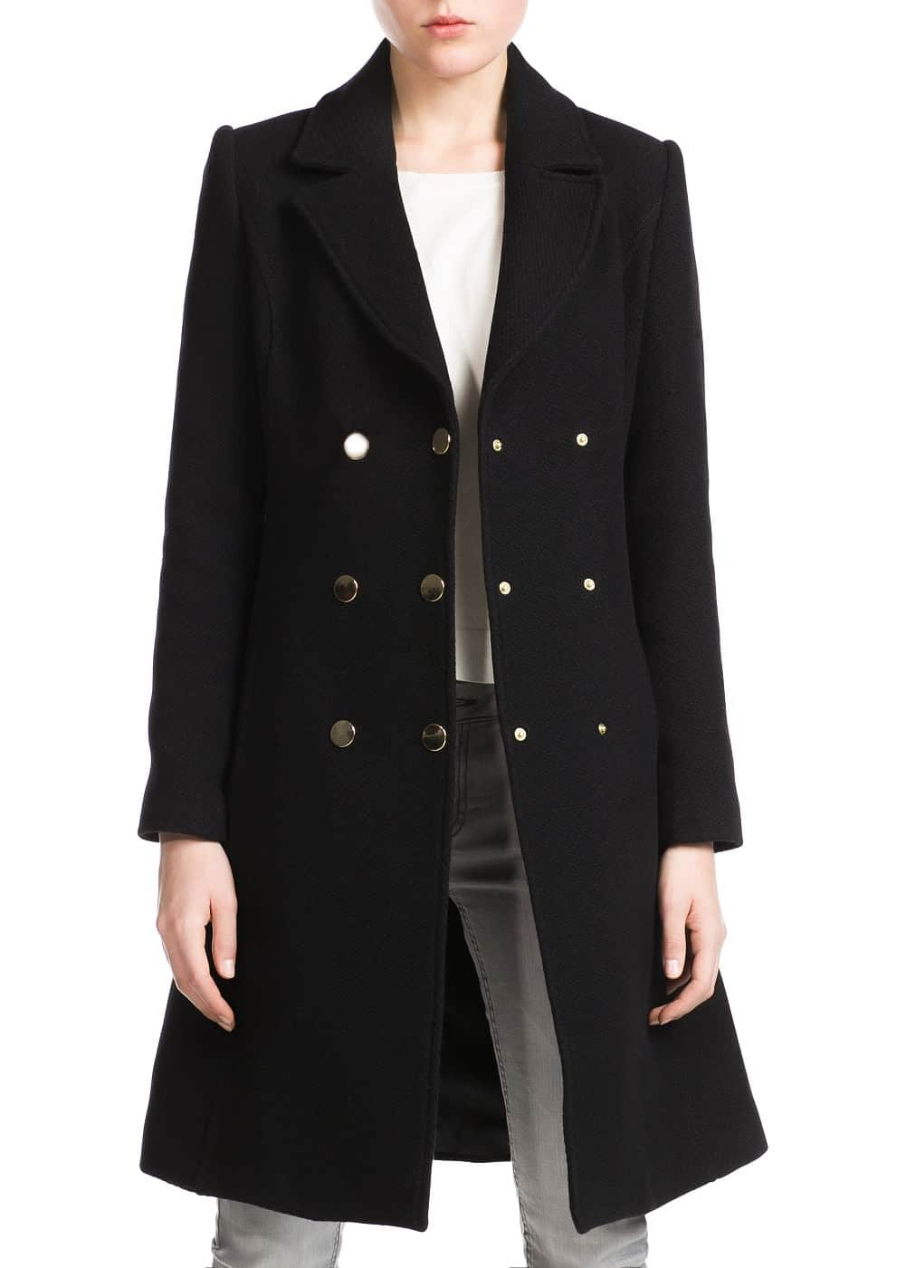 Double-breasted coat | MANGO