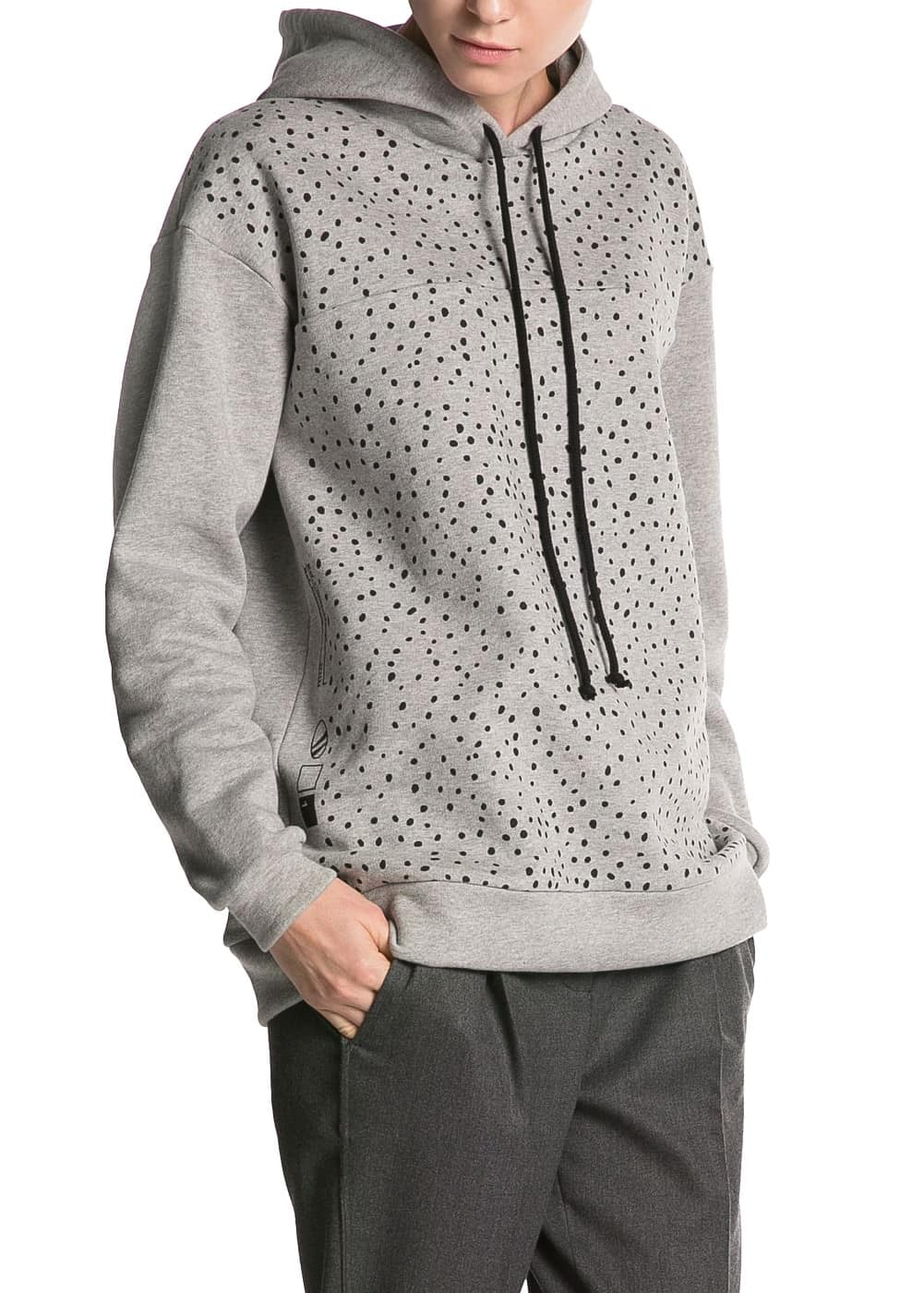 PREMIUM - Sweat-shirt à pois capuche
