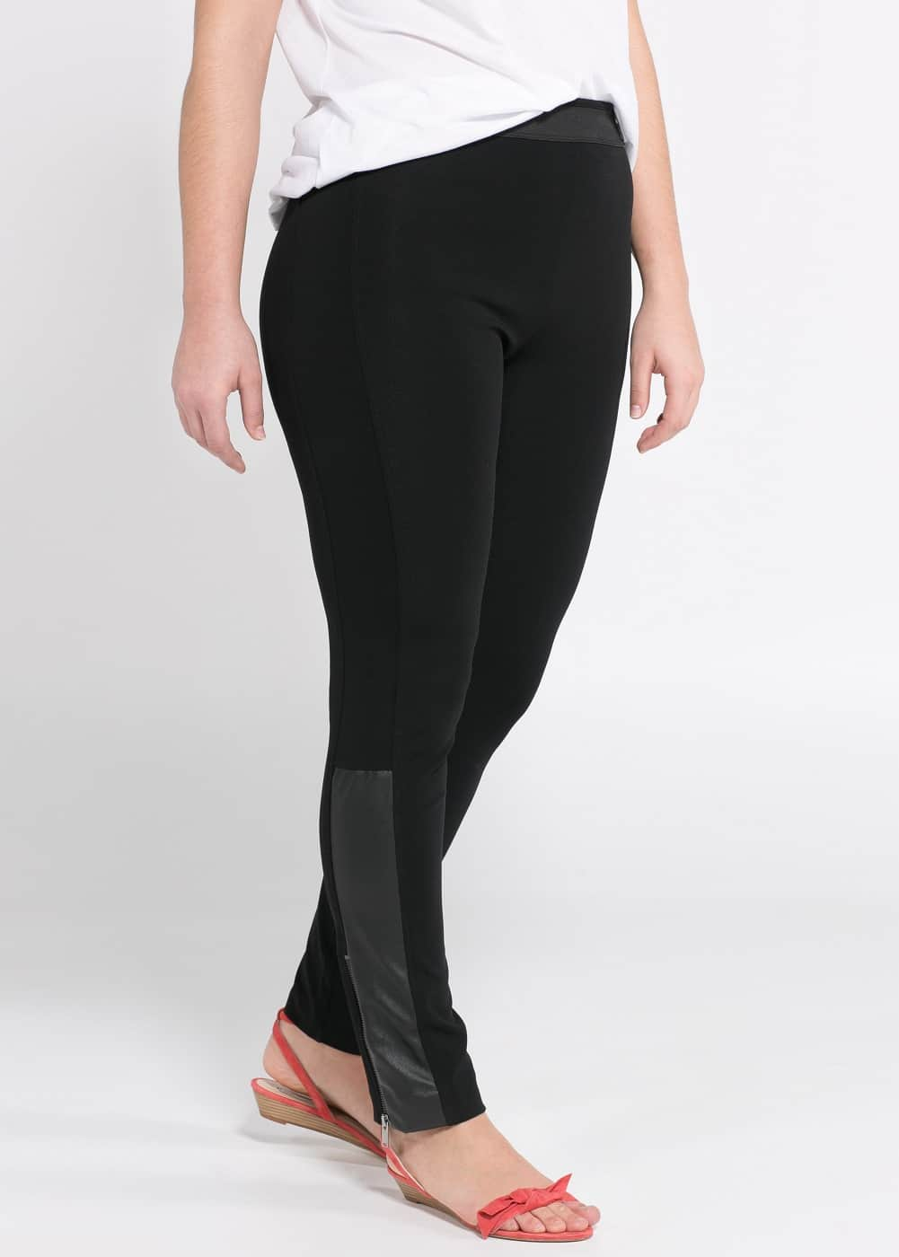 Leggings empiècements