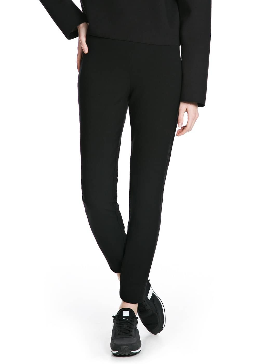 Premium - zip trousers | MANGO