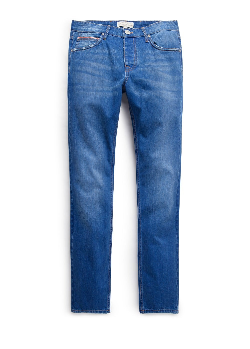 Slim-fit premium ink color steve jeans | MANGO MAN
