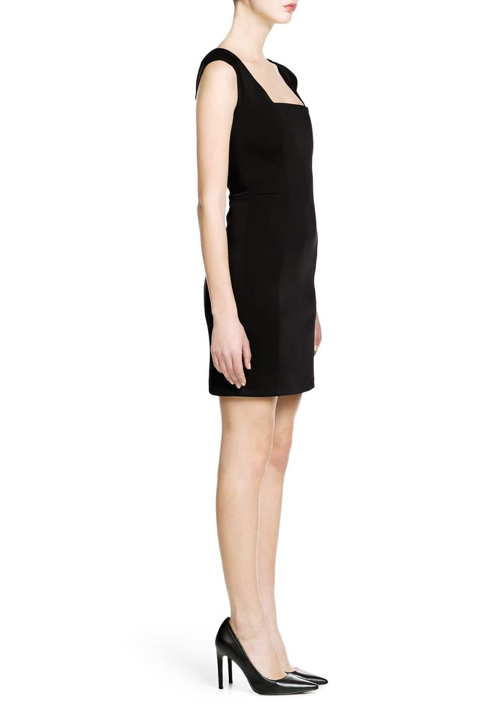 Neoprene dress | MANGO
