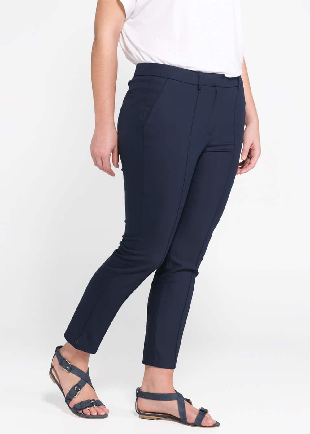 Cropped trousers | MANGO
