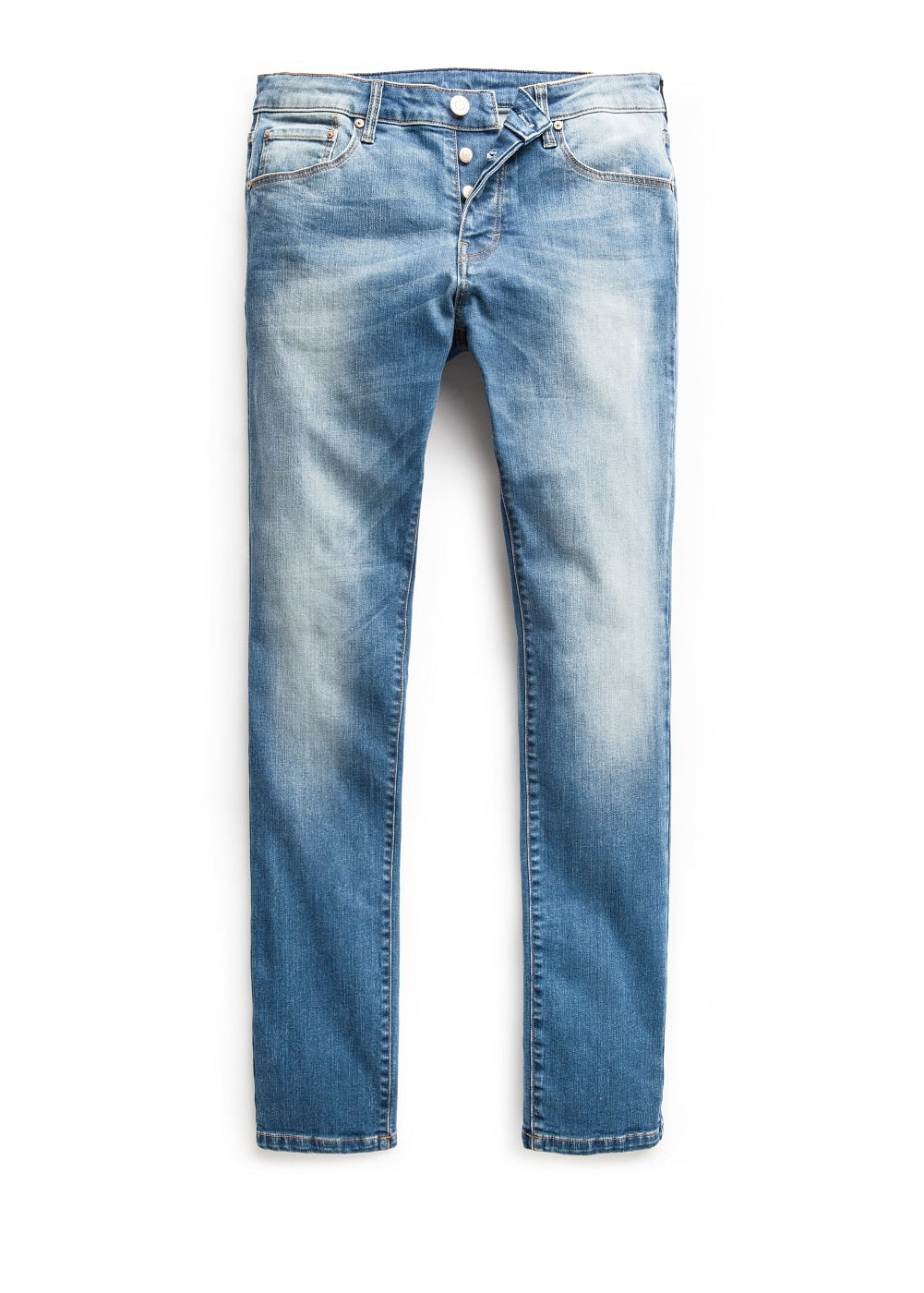 Jeans tim slim-fit lavado medio | MANGO MAN