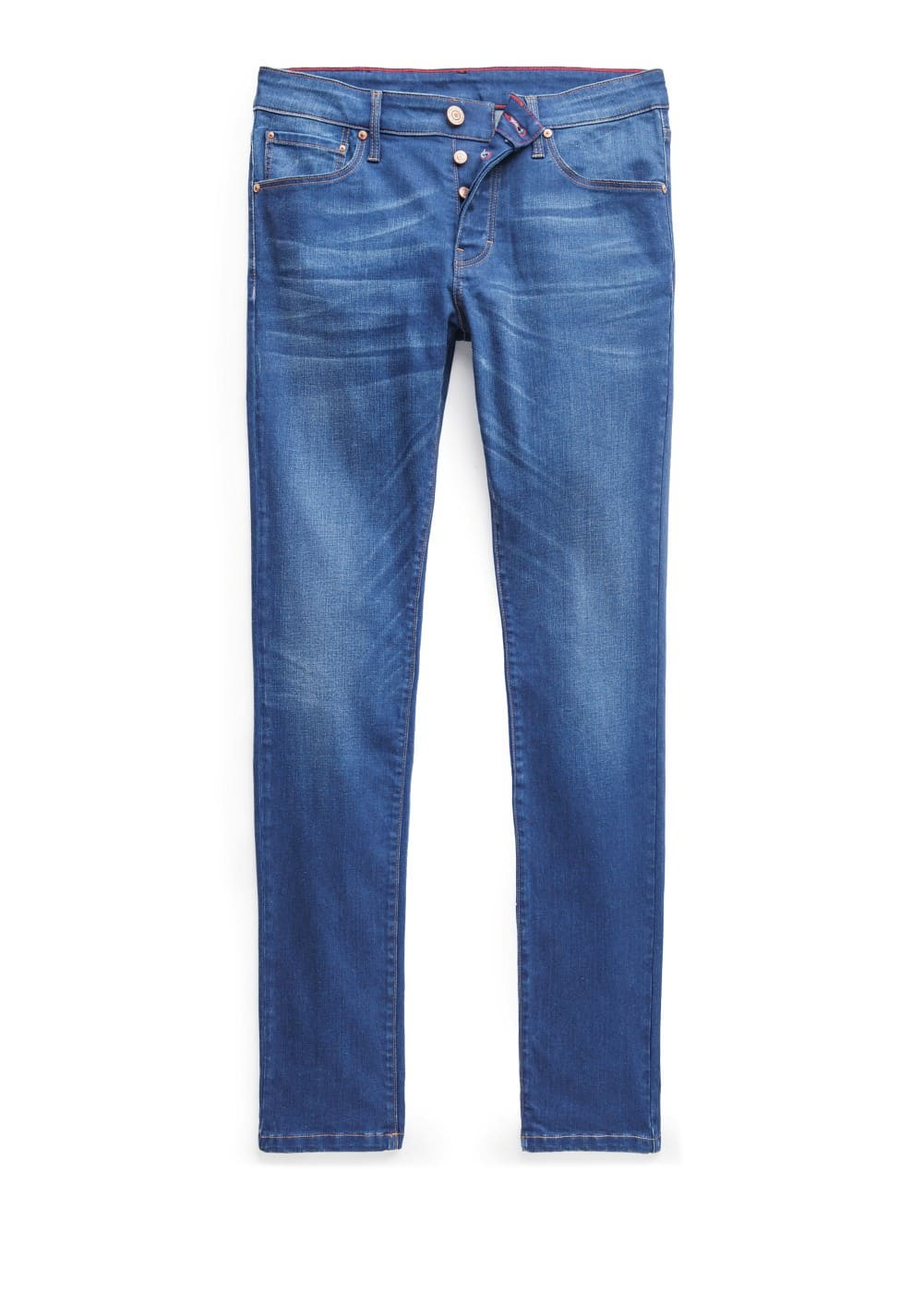 Slim-fit ink color tim jeans | MANGO