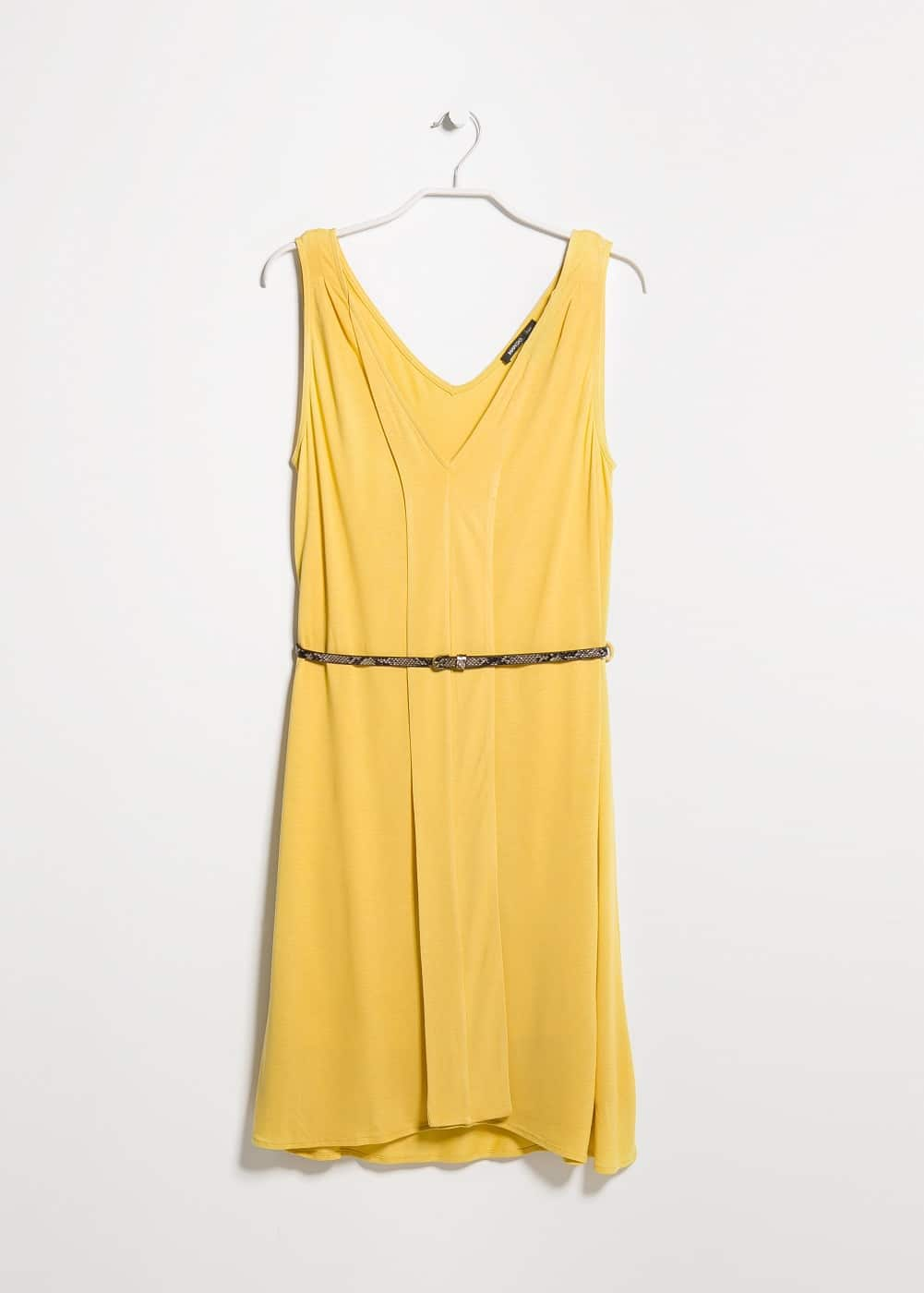 V-neck dress | MANGO MAN