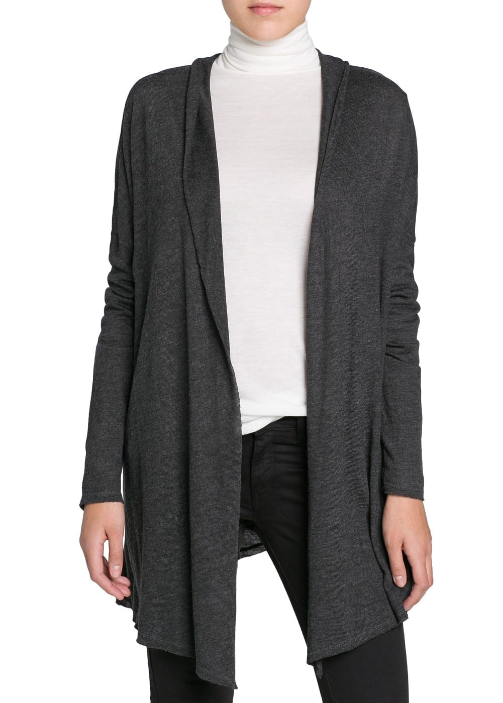 Waterfall lightweight cardigan | MANGO