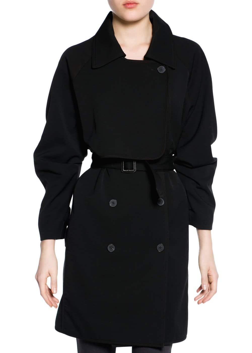 Oversize trench coat | MANGO