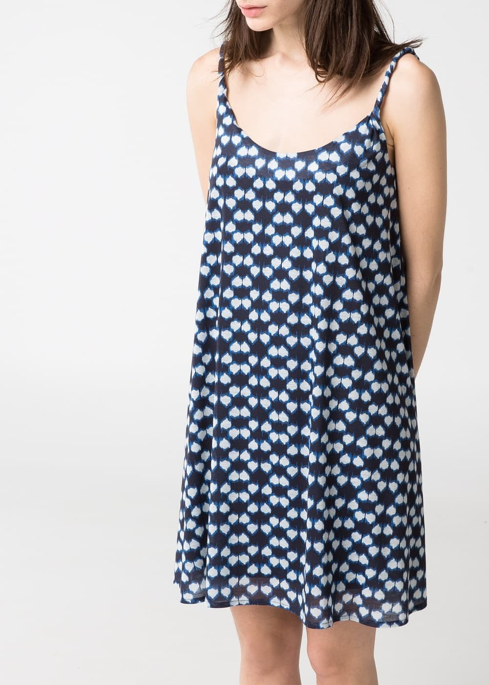 Ikat print dress | MANGO
