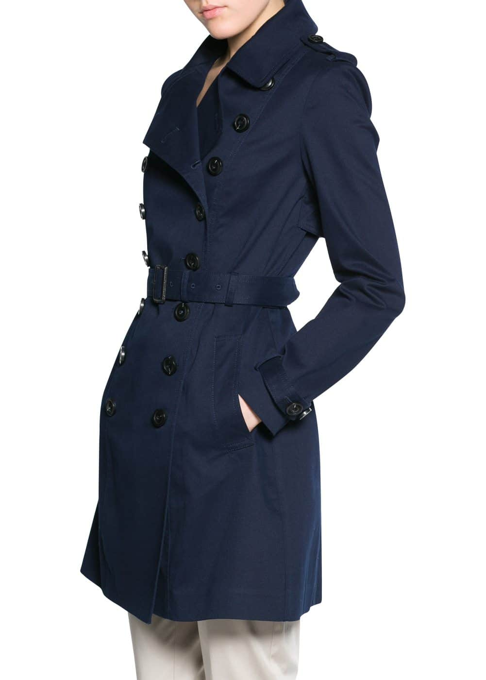 Classic cotton trench coat