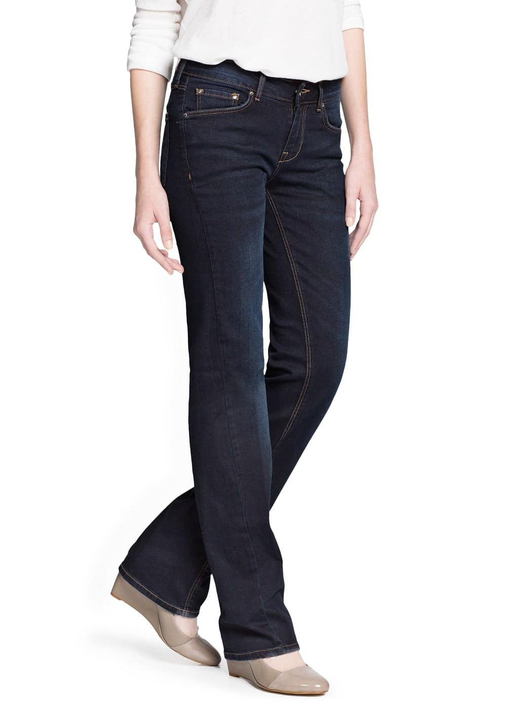 Jeans rectos christy | MANGO